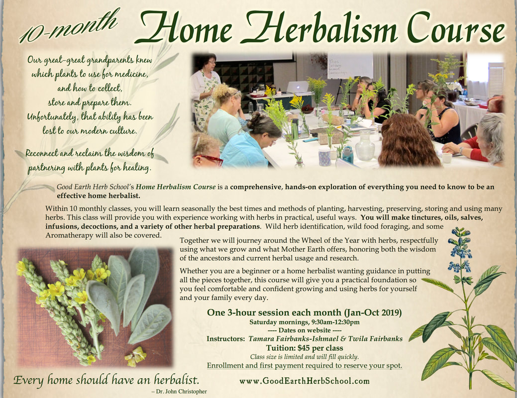 Register for a Class Online - Good Earth Gatherings